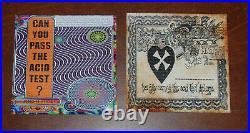 Ken Kesey Acid Test Diploma & Poster Blotter Art Print Set S/#50 Grateful Dead