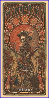 LUKE MARTIN Grateful Dead 2 GD2 Jack Straw POSTER sold out PRINT