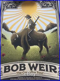 Limited Bob Weir campfire tour poster 478/700
