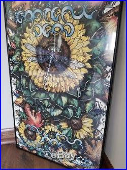 Limited Edition 1995 Grateful Dead Cancelled Fall Tour Poster