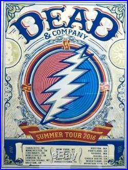 Limited Edition Dead & Company Poster