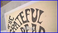 Lot of Rare Original 1967 Grateful Dead Whiskey a Go-Go Fillmore-Era Posters