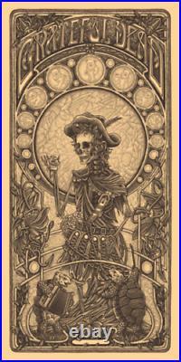 Luke Martin Grateful Dead 2 Jack Straw Poster Print KEYLINE VARIANT S/N #/100