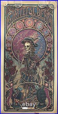 Luke Martin Grateful Dead 2 Jack Straw poster print Variant FOIL edition of 125