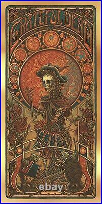 Luke Martin Grateful Dead 2 Jack Straw poster print regular FOIL edition of 125