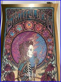 Luke Martin Grateful Dead Gold Foil Purple Variant