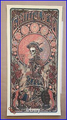 Luke Martin Grateful Dead Jack Straw Art Print Poster Bottleneck Mondo Garcia