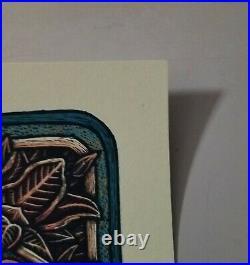 Luke Martin- Grateful Dead Jack Straw Limited Edition Poster Print Numbered Ed