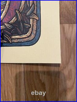 Luke Martin Grateful Dead Jack Straw VARIANT Print LIMITED EDITION # 163/200