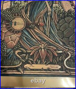 Luke Martin Grateful Dead Matching Numbers 1 & 2 Gold Foils Bertha Jack Straw