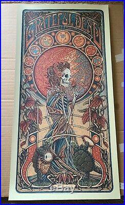 Luke Martin Grateful Dead Poster