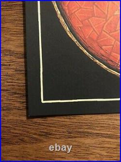 Luke Martin Grateful Dead Stealie Steal Your Face Bolt Art Print Handbill Mini