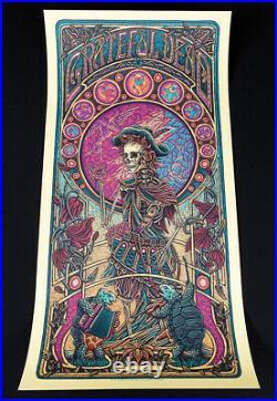 Luke Martin Jack Straw Grateful Dead Variant Edition 200 Art Print Poster BNG