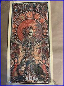 Luke Martin Suburban Avenger Grateful Dead Art Print Poster Bottleneck Stealie