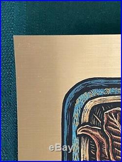 Luke Martin Suburban Avenger Grateful Dead Gold Foil Bottleneck S/N XX/100 Rare