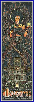 Luke Martin The Doors New Orleans Variant Foil Poster X/25 NOT BNG Grateful Dead