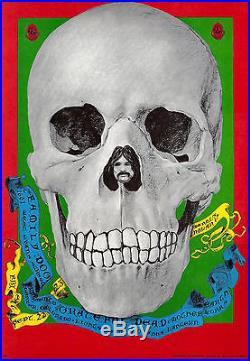 MINT Grateful Dead Mother Earth 1967 FD 82 Family Dog Denver Poster