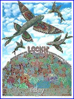 MINT Phish Ween Phil Lesh EMEK 2016 LockN' PEARL A/P Poster 12/15