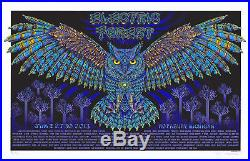 MINT/SIGNED/DOODLED EMEK 2013 Electric Forest A/P Poster 38/40