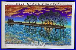 MINT/SIGNED EMEK 2007 Tragically Hip 10,000 Lakes Festival Poster 73/400
