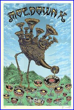 MINT & SIGNED EMEK 2009 Moe. Down X Turin NY CREAM Poster 68/100