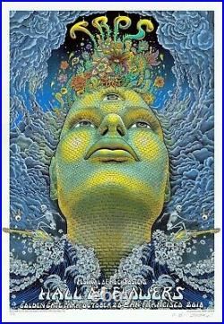 MINT & SIGNED EMEK TRPS 20th Anniversary PEARL A/P Poster 15/25