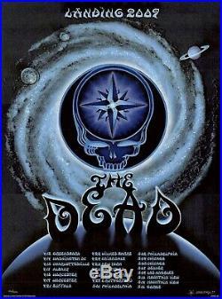 MINT & SIGNED Emek Grateful Dead 2009 Spring Tour Poster