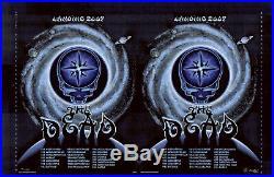 MINT & SIGNED Emek Grateful Dead 2009 Spring Tour UNCUT PROOF 38/40