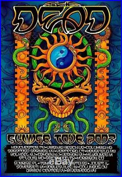 MINTY The Dead 2003 Summer Tour Michael Everett Poster