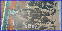 March 24 25 1967 Poster Grateful Dead Quicksilverjohnny Hammond Avalon Ballroom