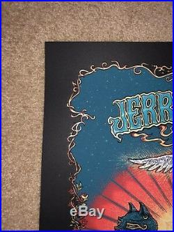 Marq Spusta Bed Of Roses Jerry Garcia Poster Print Grateful Dead