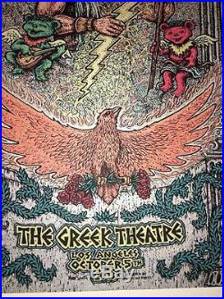 Marq Spusta Further Los Angeles 2013 Rare Uncut Poster Print Grateful Dead