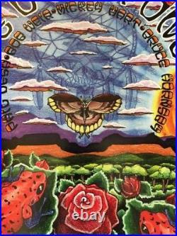 Michael Everett 1998 The Other Ones Summer Tour Poster Grateful Dead Print