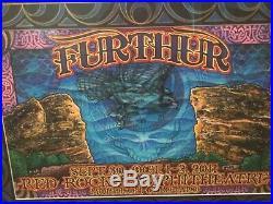 Michael Everett Furthur original artwork Red Rocks 2011