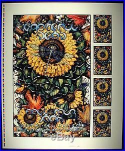 Michael Everett Grateful Dead Fall 1995 Tour Proofsheet