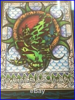Michael Everett Grateful Dead original artwork Shoreline prototype 1995