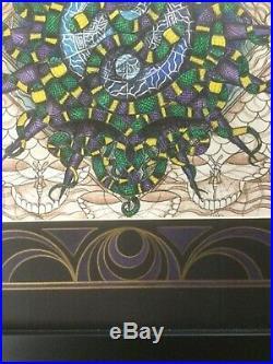 Michael Everett Grateful Dead original artwork Snakes 1995