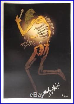Mickey Hart Signed Poster Grateful Dead