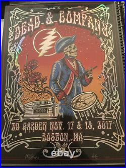 Mike Dubois Dead and Company TD Garden Boston, Massachusetts 11/17&18/2017 Mint