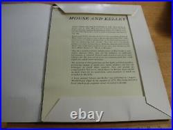 Mouse & Kelley art portfolio signed JOURNEY WINGS Grateful Dead 12x16 SCARCE