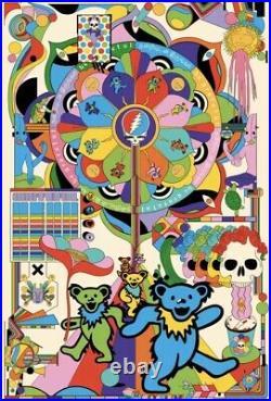 Murugiah Grateful Dead Art Color Print Poster 250 LE Bottleneck BNG IN HAND