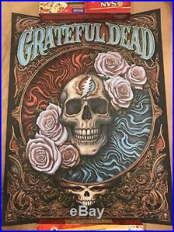 NC N. C. Winters Grateful Dead Black Licorice Variant Poster Print Sold Out #/40