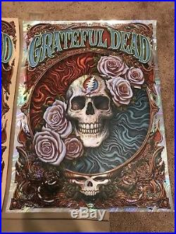 NC N. C. Winters Grateful Dead Regular And Lava Foil Matching Set Posters Prints
