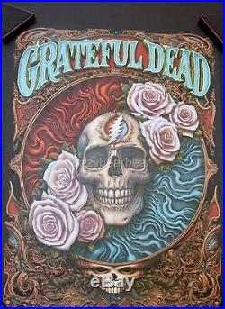 NC Winters Grateful Dead Black Licorice Variant Art Gig Concert Print Poster