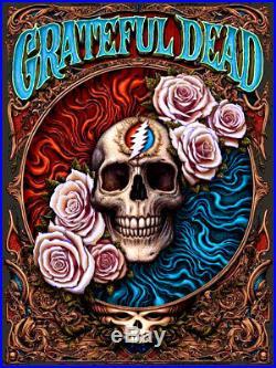 NC Winters Grateful Dead Black Licorice Variant Poster /40 N. C. Print nin