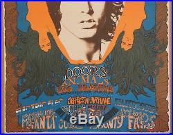 Northern California Folk Rock Festival Doors Aor 2.341 Fillmore Fd Era Poster