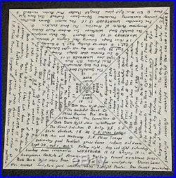 Original First Printing Grateful Dead Acid Test Handbill