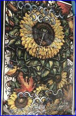 ORIGINAL POSTER GRATEFUL DEAD FALL TOUR 1995 NUMBERED and ARTIST SIGNED