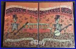 Official Fare Thee Well Grateful Dead GD50 LE VIP SC VW Justin Helton Poster Set