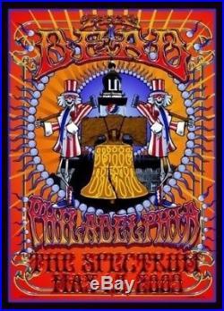 Official The Dead 2009 Tour Poster The Spectrum Philadelphia PA Richard Biffle
